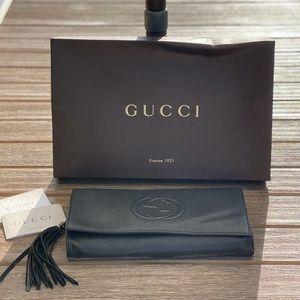 Gucci Black Soho Clutch